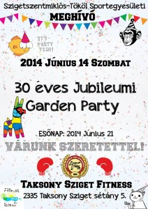 30 éves kerti party