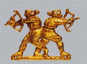 szkita harcosok